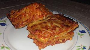 Olaszos étel kemencében