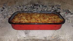 Kemencés lasagne